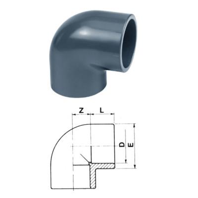 KOLANO 90° PVC-U