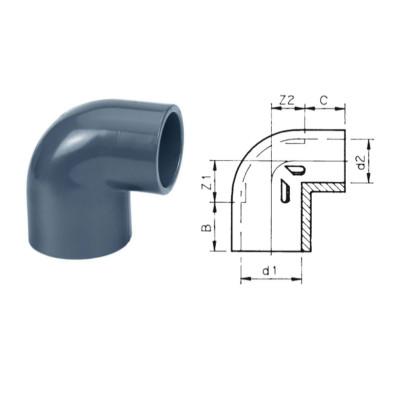 KOLANO 90° PVC-U VERLOOP